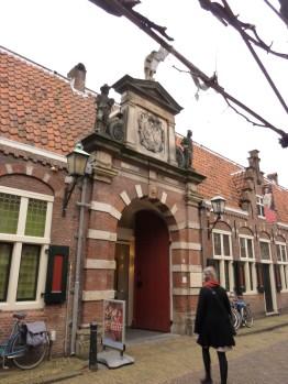 Entree Frans Hals museum Haarlem,