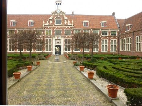 Binnenplein Frans Hals Museum