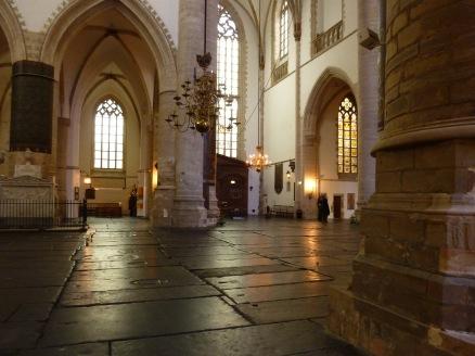 Interieur St Bavokerk Haarlem