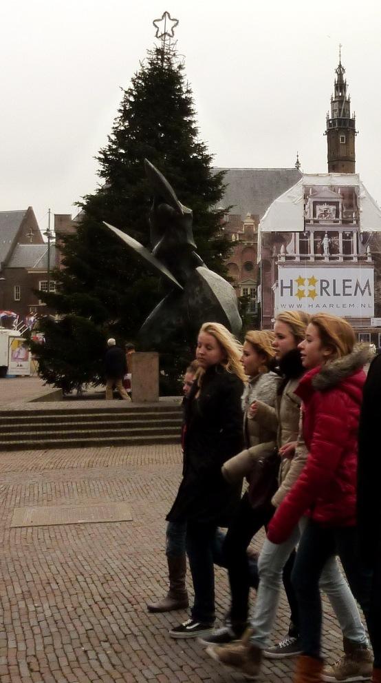 straatbeeld Haarlem centrum
