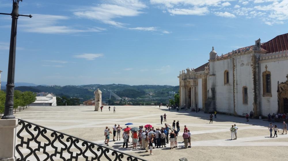 Coimbra universiteit plein